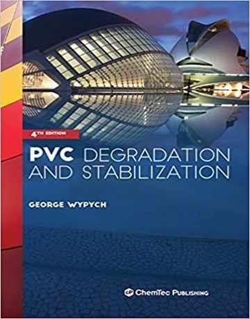 کتاب تخریب و تثبیت PVC ویرایش چهارم