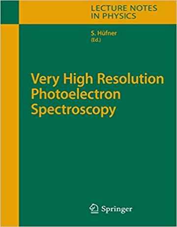 کتاب طیف سنجی فوتوالکترون با وضوح بسیار بالا