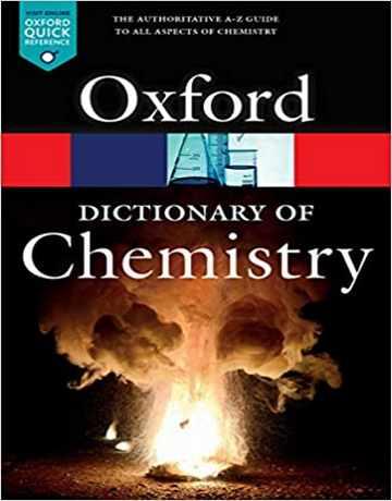 دانلود دیکشنری شیمی آکسفورد ویرایش هشتم