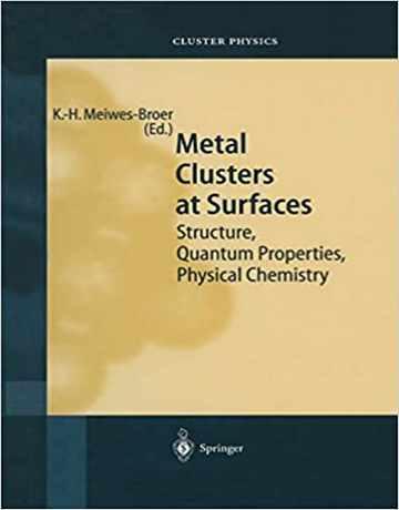 کلاسترهای فلزی در سطح: ساختار، خواص کوانتومی
