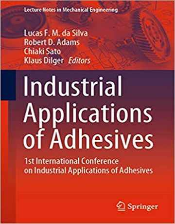 کتاب کاربردهای صنعتی چسب ها