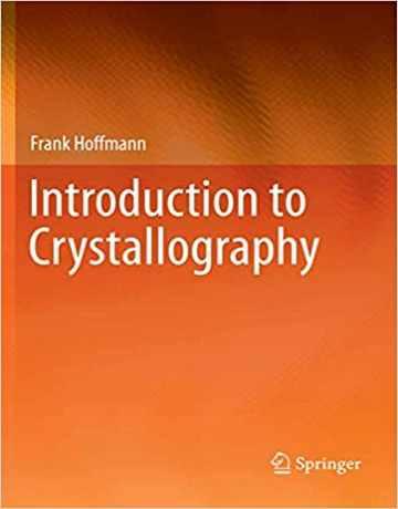 کتاب مقدمه ای بر کریستالوگرافی فرانک هافمن