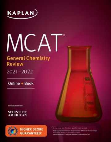 کتاب شیمی عمومی MCAT General Chemistry Review 2021-2022