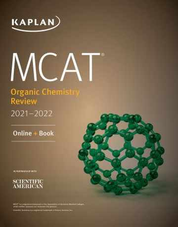 MCAT Organic Chemistry Review 2021-2022 کتاب شیمی آلی