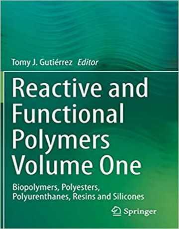 پلیمرهای واکنشی و عملکردی: بیوپلیمرها، پلی استرها جلد 1