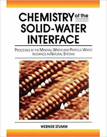 کتاب شیمی اینترفیس آب-جامدکتاب شیمی اینترفیس آب-جامد