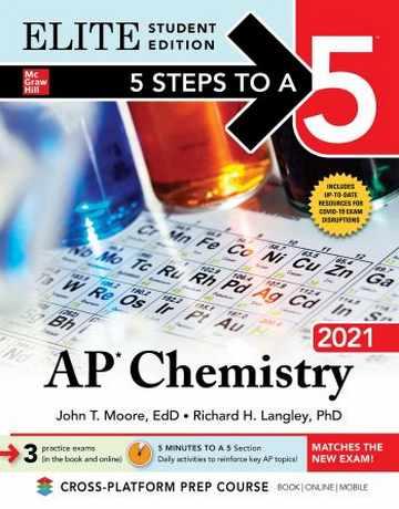 کتاب شیمی عمومی AP Chemistry 2021 Elite Student Edition