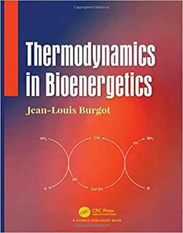 کتاب ترمودینامیک در بیوانرژتیک