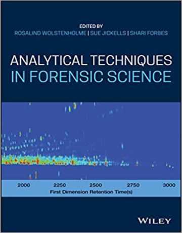 کتاب تکنیک های تجزیه ای در علوم پزشکی قانونی 2020
