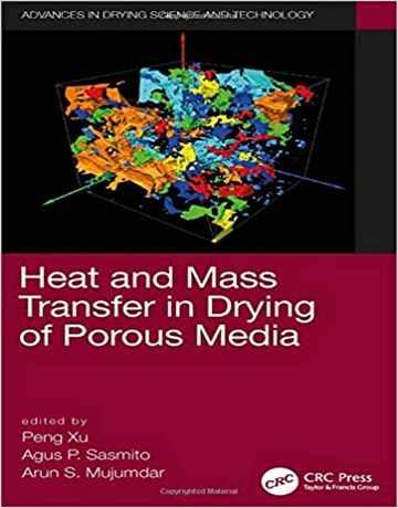 کتاب انتقال جرم و حرارت در خشک کردن محیط متخلخل