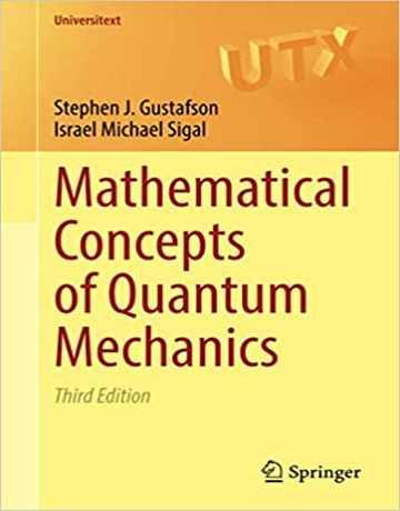کتاب مفاهیم ریاضی مکانیک کوانتومی ویرایش سوم
