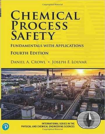 کتاب ایمنی فرایندهای شیمیایی: اصول با کاربردها ویرایش چهارم