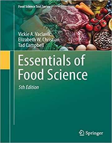 کتاب ملزومات و ضروریات علوم غذایی ویرایش پنجم