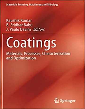 کتاب پوشش دهنده ها: مواد، فرایندها، خصوصیات و بهینه سازی