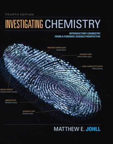 شیمی بازجویی و تحقیق: شیمی مقدماتی از دیدگاه پزشکی قانونی ویرایش چهارم