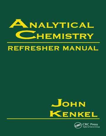 کتاب راهنمای شیمی تجزیه ویرایش اول John Kenkel