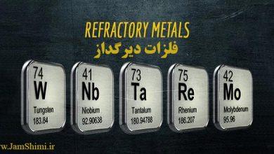 فلزات دیرگداز یا Refractory metals شامل چه عناصری است