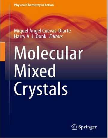 کتاب کریستال های مخلوط مولکولی 2021