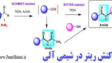 Photo of مکانیسم واکنش ریتر در شیمی آلی Ritter Reaction