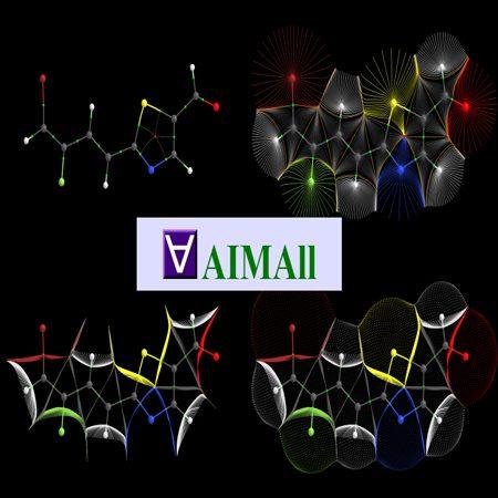 دانلود AIMAll 10.05.04 نرم افزار تحلیل داده های کوانتومی و مولکولی + کرک کامل