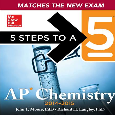 دانلود AP Chemistry, 2015 Edition کتاب آموزش و آزمون المپیاد شیمی John T. Moore