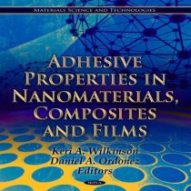 دانلود کتاب Adhesive Properties in Nanomaterials, Composites and Films