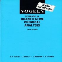 دانلود کتاب Vogel Textbook of Quantitative Chemical 5th edition