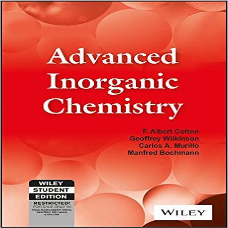 دانلود کتاب شیمی معدنی پیشرفته کاتن ویرایش 3