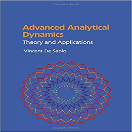 دانلود کتاب دینامیک پیشرفته تحلیلی: تئوری و کاربرد ویرایش 1 اول Vincent De Sapio