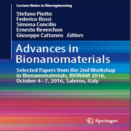 دانلود Advances in Bionanomaterials کتاب مجموعه مقالات پیشرفت بیونانو مواد چاپ 2107