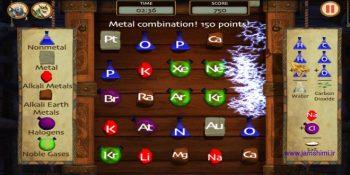 دانلودSoD: Alchemy Adventure 1.2.2 بازی جورچین عناصر شیمی برای اندروید