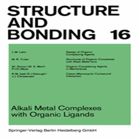 دانلود کتاب کمپلکس های فلزات قلیایی با لیگاندهای آلی J.-M. Lehn