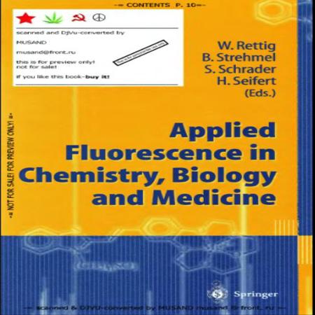 دانلود کتاب کاربرد فلورسانس در شیمی ، زیست شناسی و پزشکی Wolfgang Rettig