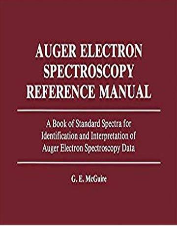 دانلود کتاب راهنما و مرجع طیف های استاندارد شناسایی و تفسیر داده های طیف سنجی اورژه McGuire
