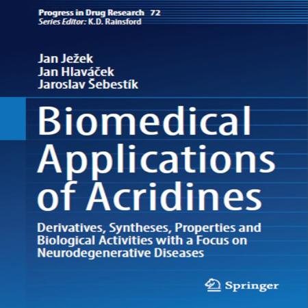 دانلود کتاب کاربرد های زیست پزشکی آکریدین ها Jan Ježek