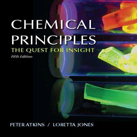 دانلود Chemical Principles کتاب شیمی عمومی و اصول شیمیایی اتکینز و جونز ویرایش 5