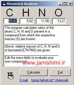 Photo of دانلود نرم افزار محاسبه فرمول تجربی ترکیبات شیمیایی