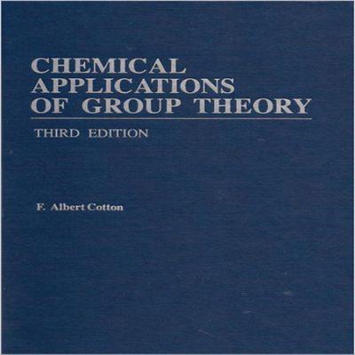 دانلود کتاب نظریه گروه در شیمی کاتن ویرایش 3