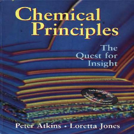 دانلود کتاب اصول و مبانی شیمی عمومی ویرایش 1 تالیف اتکینز و جونز + حل المسائل