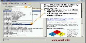دانلود Chemical Reactivity 3.0.1 نرم افزار پیش بینی واکنش های خطرناک
