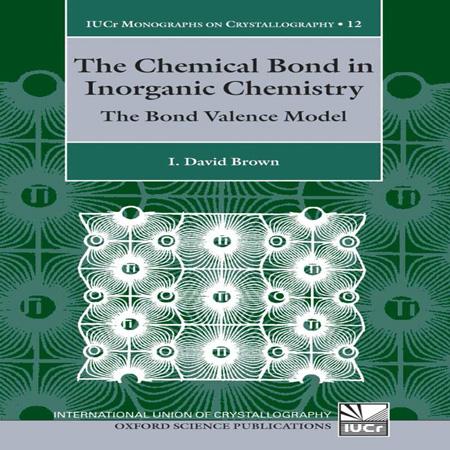 دانلود کتاب پیوند شیمیایی در شیمی معدنی: مدل پیوند ظرفیت David Brown