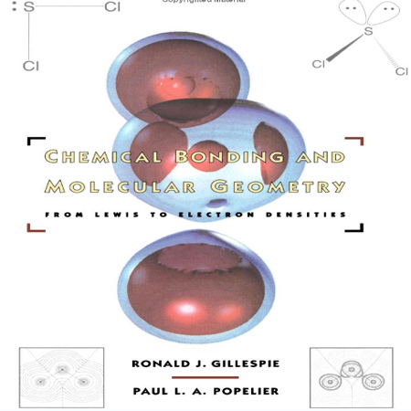 دانلود کتاب پیوند شیمیایی و شکل هندسی از لوویس به تراکم الکترونی ویرایش اول