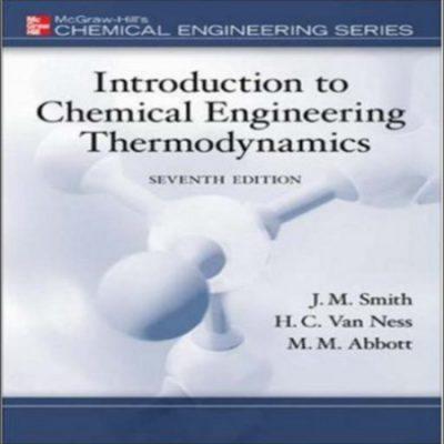 دانلود کتاب مقدمه ای بر ترمودینامیک مهندسی شیمی اسمیت ون نس ویرایش 7