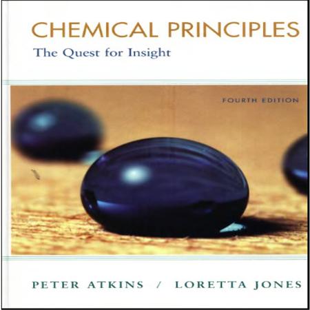 دانلود کتاب شیمی عمومی و اصول شیمیایی اتکینز و جونز ویرایش 4
