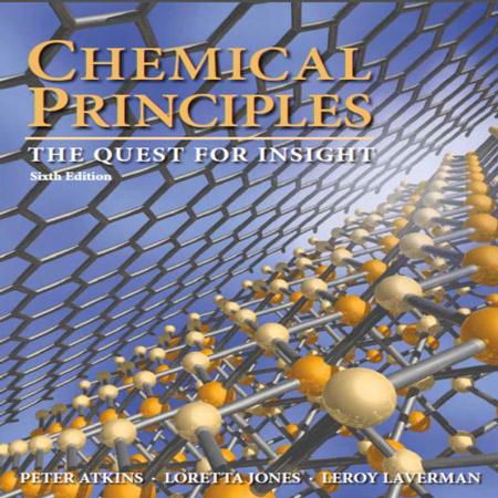 دانلود کتاب اصول شیمیایی و شیمی اتکینز ویرایش 6 ششم Peter Atkins