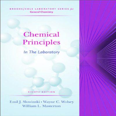 دانلود کتاب اصول شیمیایی در آزمایشگاه نوشته امیل اسلاوینسکی ، ویلیام مسترتون ویرایش 8
