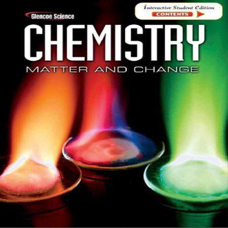 دانلود کتاب شیمی: ماده و تغییر ویرایش 1 اول Glencoe Science