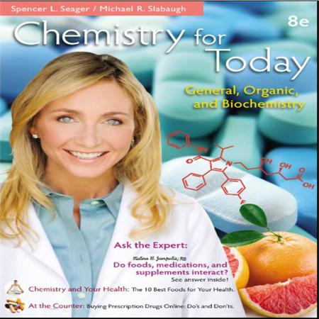 دانلود کتاب شیمی برای امروز: شیمی عمومی ، شیمی آلی و بیوشیمی سیگر ویرایش 8 Seager