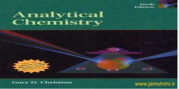 دانلود کتاب شیمی تجزیه کریستین ویرایش ششم Christian's Analytical Chemistry 6th