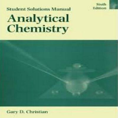دانلود حل المسائل کتاب شیمی تجزیه کریستین ویرایش 6